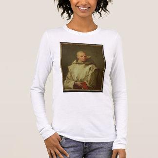 Porträt von Dom Baudouin du Basset von Gaillon, Langarm T-Shirt
