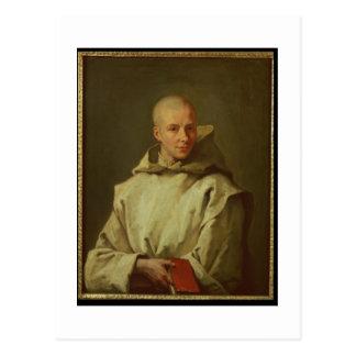 Porträt von Dom Baudouin du Basset von Gaillon, Postkarte