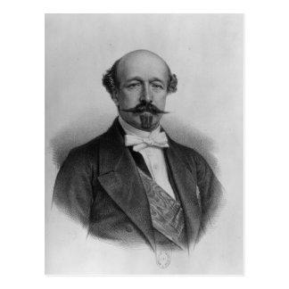 Porträt von Duc Charles de Morny c.1850 Postkarte