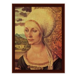 Porträt von Elsbeth Tucher durch Albrecht Dürer Postkarte