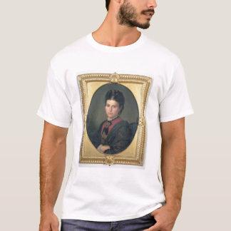 Porträt von Emilia Sampieri, 1870 (Öl auf T-Shirt