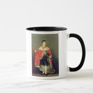 Porträt von Ferdinand VII 1814 Tasse