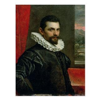 Porträt von Francesco Bassano Postkarte