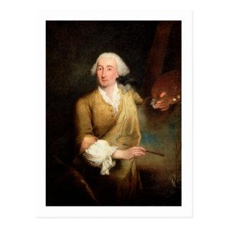 Porträt von Francesco Guardi (1712-93) (Öl kann an Postkarte