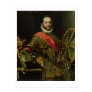 Porträt von Francesco II della Rovere, c.1572 (Öl Postkarte
