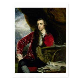 Porträt von Francis Russell, die Marquise von Postkarte