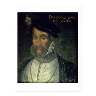 Porträt von Francois, 2. Herzog Guise (1519-63) Postkarte