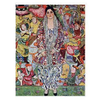 Porträt von Frederika Maria Bier durch Gustav Postkarte