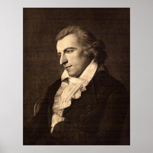 Porträt von Friedrich von Schiller Posterdrucke
