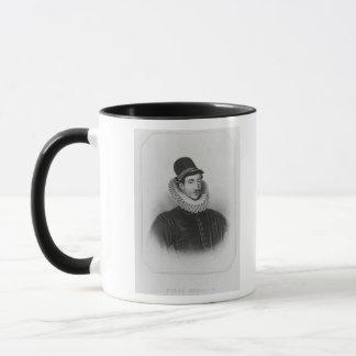 Porträt von Fulke Greville 1. Baron Brooke Tasse