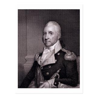 Porträt von Generalmajor-John-Bächen, vorbei Postkarte