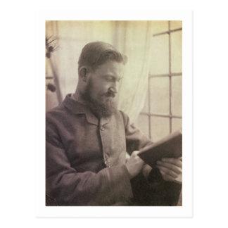 Porträt von George Bernard Shaw (1856-1950) als Y Postkarte