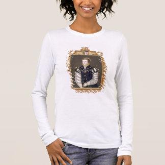 Porträt von Gräfin Anne Russell (d.1604) von Warw Langarm T-Shirt