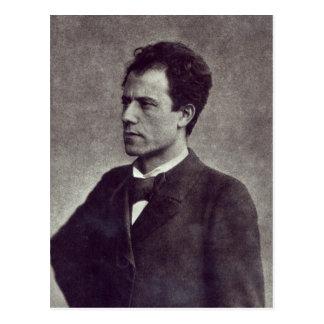 Porträt von Gustav Mahler, 1897 Postkarte