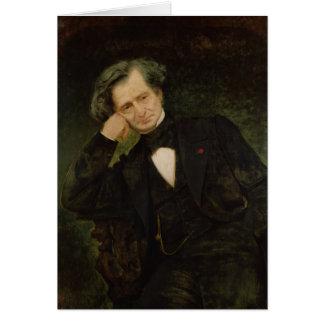Porträt von Hector Berlioz Karte