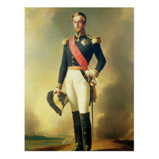 Porträt von Henri-Eugene-Philippe-Louis Postkarte