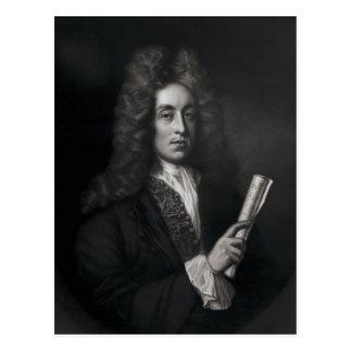 Porträt von Henry Purcell Postkarte