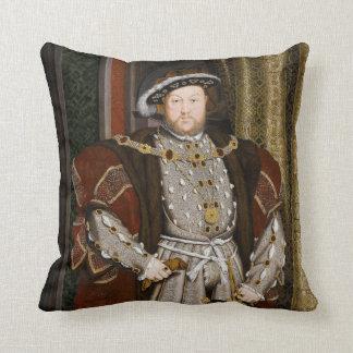 Porträt von Henry VIII durch Hans Holbein das Zierkissen