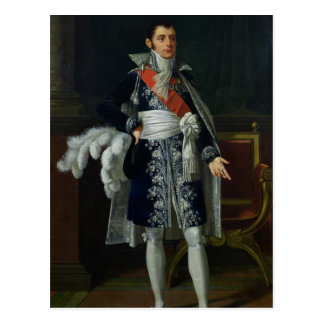 Porträt von Herzog Anne-Savary von Rovigo, 1814 Postkarte