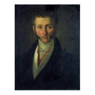 Porträt von Herzog Joseph-Fouche von Otranto, 1813 Postkarte