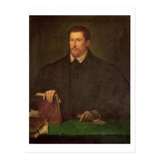 Porträt von Ippolito Riminaldi Postkarte