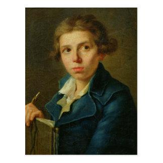 Porträt von Jacques-Louis David als Jugend Postkarte