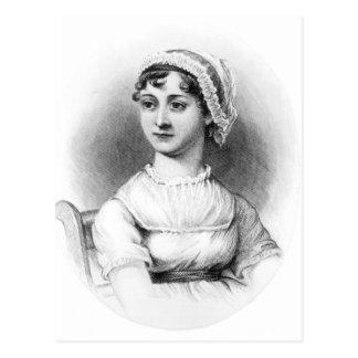 Porträt von Jane Austen Postkarte