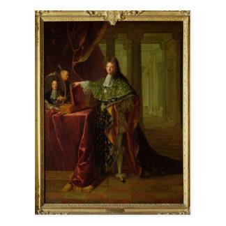 Porträt von Jean-Baptiste Colbert Postkarte