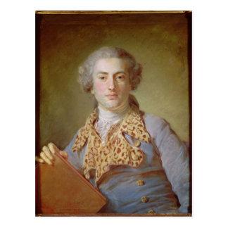 Porträt von Jean-Georges Noverre, 1764 Postkarten