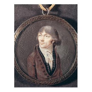 Porträt von Jean-Marie Collot d'Herbois Postkarte