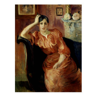 Porträt von Jeanne Pontillon Postkarte