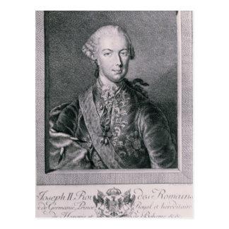 Porträt von Joseph II Postkarte