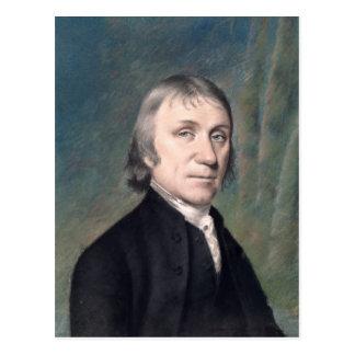 Porträt von Joseph Priestley, c.1797 Postkarte
