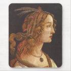Porträt von junger Simonetta Vespucci Mousepad