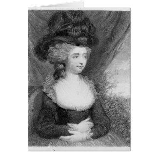 Porträt von Kneipe Fannys   Burney. durch Henry Karte