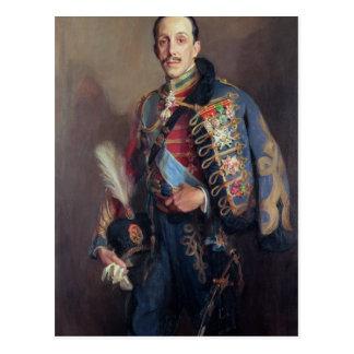 Porträt von König Alfonso XIII von Spanien, 1927 Postkarte