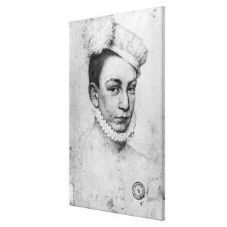 Porträt von König Charles IX von Frankreich, 1561 Leinwand Druck