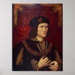 Porträt von König Richard III Poster
