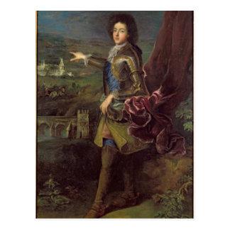 Porträt von Louis Auguste de Bourbon Postkarte