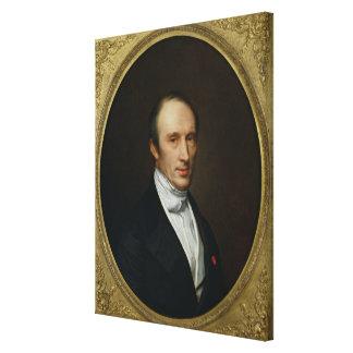 Porträt von Louis Cauchy Galerie Falt Leinwand