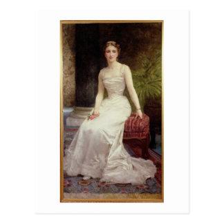 Porträt von Madame Olry-Roederer, 1900 (Öl kann an Postkarte