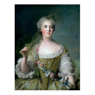 Porträt von Madame Sophie Postkarte