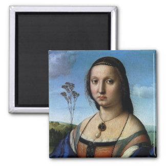 Porträt von Maddalena Doni durch RAPHAEL oder Quadratischer Magnet