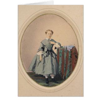 Porträt von Madeleine de Malaret Karten