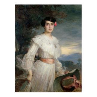 Porträt von Madeleine Reclus, 1902 Postkarten
