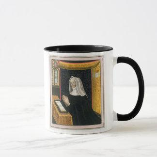 Porträt von Margaret Beaufort, Gräfin von Richmon Tasse