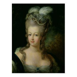 Porträt von Marie-Antoinette Postkarte