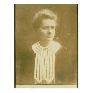 Porträt von Marie Curie Postkarte