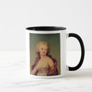 Porträt von Marie-Therese Charlotte von Frankreich Tasse