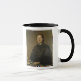 Porträt von Nicolas de Malebranche Tasse